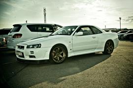 Nissan Skyline GT-R R34 Smile