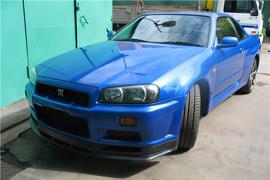 GT-R 34 Tomei LHD