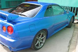 Pavel 300ZX GT-R R34 LHD