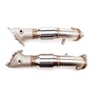 Приемные трубы COBB Tuning Cast Bellmouth Catted для Nissan GT-R R35