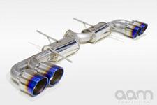купить Выхлопная система AAM Competition 90mm Sport для Nissan GT-R R35 в москве