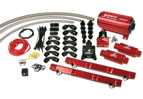 техническая статья топливные системы. насосы, регуляторы, шланги, форсунки. AEM, Aeromotive, Injector Dynamics.
